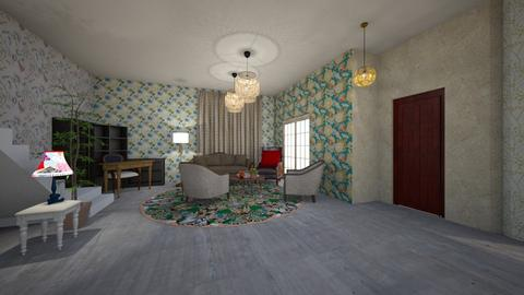 Design 3 - Classic - Living room - by lealta