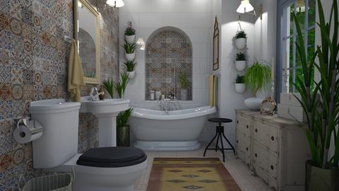 Bohemian - Bathroom - by Tuija