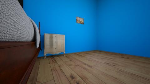 day 1 - Rustic - Bedroom - by Jim Pickens