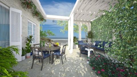 Seaside - Garden - by Lizzy0715