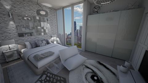 Modern Master Bedroom - Glamour - Bedroom - by marcelk456