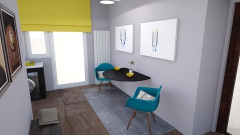 Flat - Living room - by czoriszka