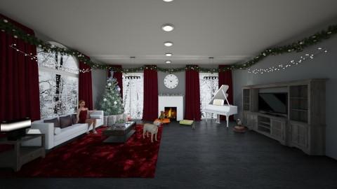 Christmas livingroom - by rroland98