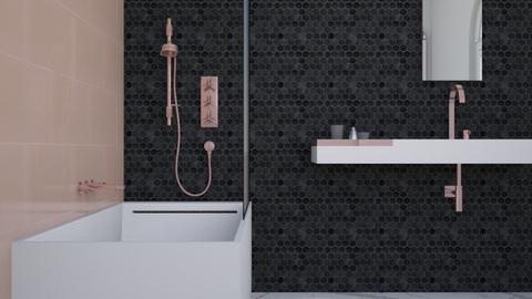Rosy - Feminine - Bathroom - by Vampire_Kitty