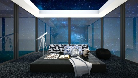 Stargazing bed - Modern - Bedroom - by bgref