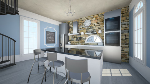 Peregrine - Glamour - Kitchen - by Jordan Alyssa