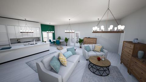 1234g - Living room - by dorotazulczyk1