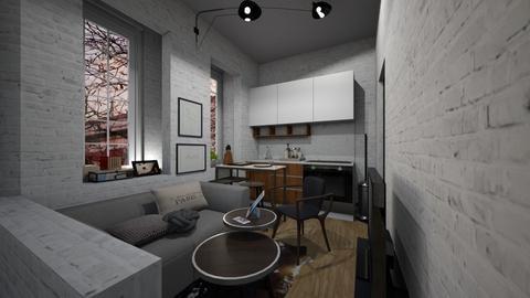 Casa238LivingandKitchen - Modern - Living room - by nickynunes