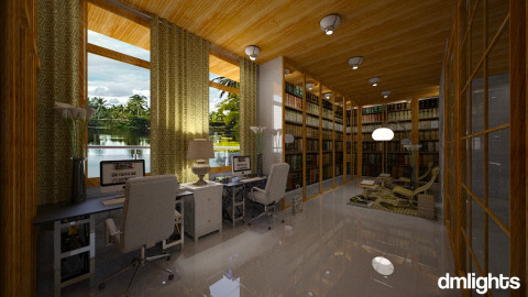 Biblioteca - Office - by DMLights-user-994540