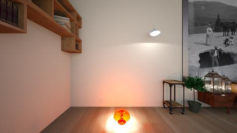 geometric wall - Living room - by georgiarafferty14