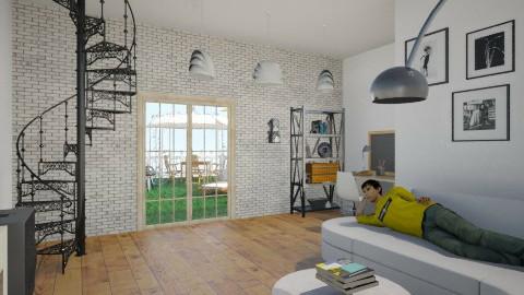 la mia camera ideale - Minimal - Living room - by Gian marco