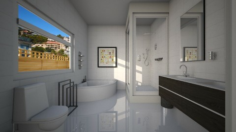 small bathrom  - Modern - Bathroom - by Nkanyezi Nhezi Gumede