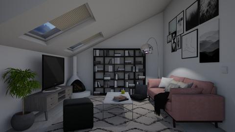 Minimal Living Room - Minimal - Living room - by irug19_