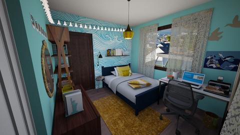 SACorangebr - Kids room - by  Keira