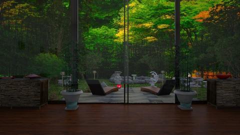 For Orionaute - Garden - by Jade Autumn