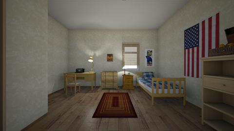 Old Parkersburg Home - Bedroom - by WestVirginiaRebel