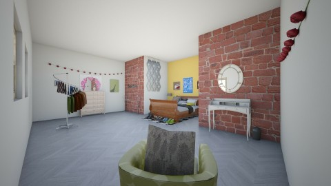 teen room - Rustic - Bedroom - by Ella the awesome llamma