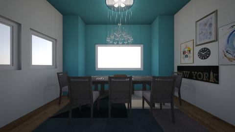 living in the future - Dining room - by Alice F