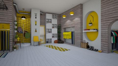 Clothes Store - by Nicky West