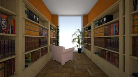 Library 1 - Rustic - by abilikescats