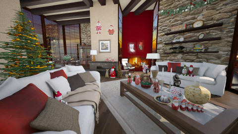 christmas mood - Eclectic - Living room - by Senia N
