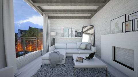 Light blue - Modern - Living room - by leger1234567890