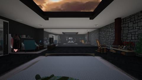 s - Modern - Bedroom - by waad3333