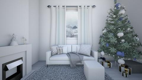 minimalist christmas  - Minimal - Living room - by jjannnii