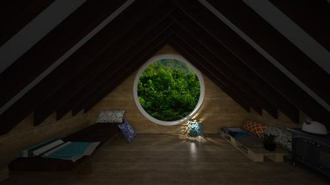 jungle - Bedroom - by silent scream