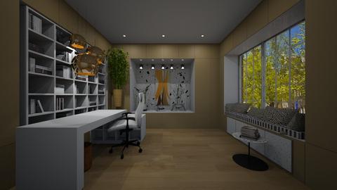 Estudo - Office - by nanabpf