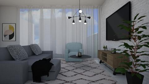 sharom 106 - Living room - by sharom