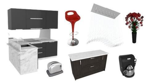 Kitchen design  - by amaya d