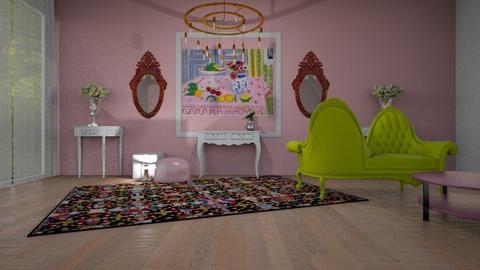 pink Matisse - by ClaraBart