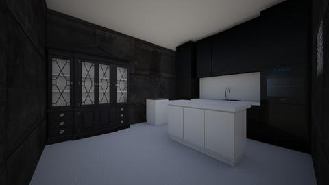 Trap kitchen - Kitchen - by Hezebear