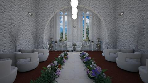 wedding hall - by Toshana Sue
