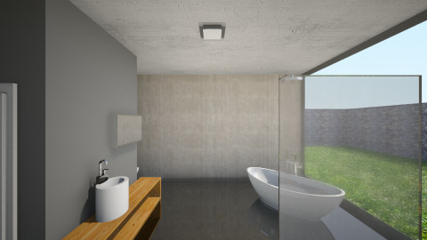 Simple bathroom - Minimal - Bathroom - by Peter Reyneke