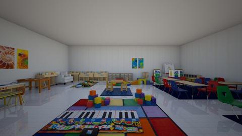 classroom - Kids room - by Ninergirl55