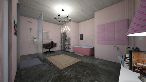 Kinemeeeee - Bathroom - by katext
