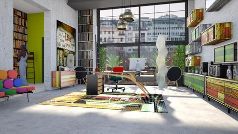 creative space - Eclectic - Office - by kitty
