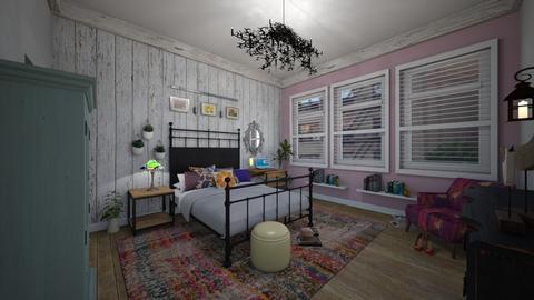 Bohemian Bedroom Daisy Ar - Global - Bedroom - by Daisy de Arias