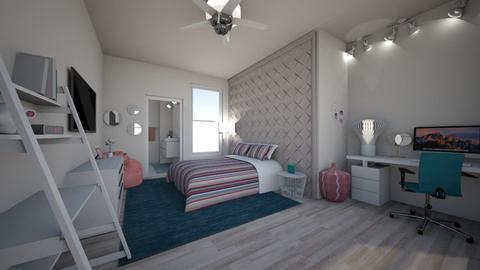 bedroom teen - by kittycait08