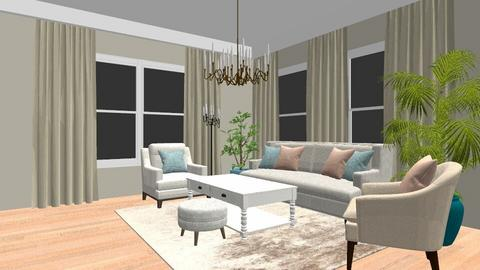 Shabby Chique Livingroom - Living room - by Vlad Silviu