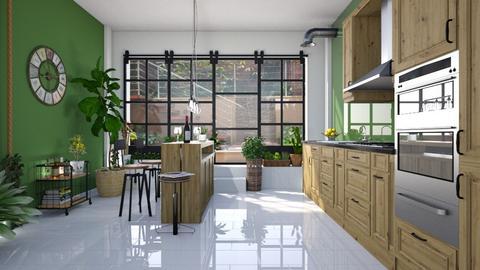 Jungle kitchen - Kitchen - by ericP