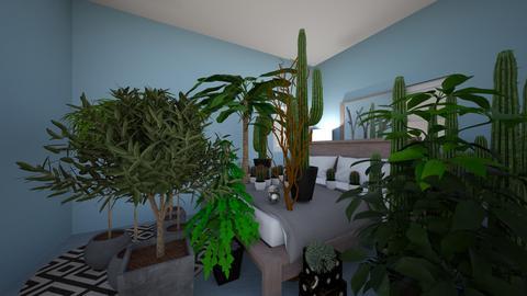 Zakk Room - Garden - by vancleveh