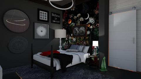 LMB - Bedroom - by augustmoon