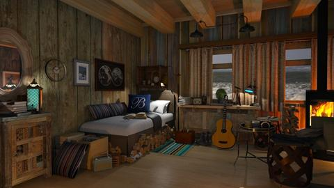 Boathouse 3 - Country - Living room - by ZsuzsannaCs
