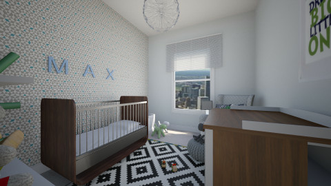 green and grey - Modern - Kids room - by sofia95