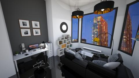 new york apartment  - Modern - Living room - by s _ i _ j