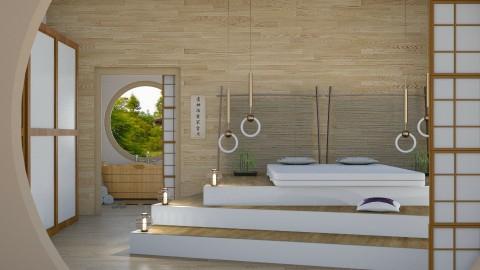 Zen - Global - Bedroom - by Kathran