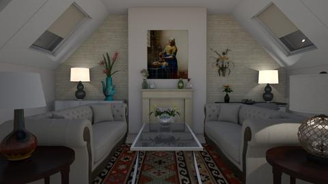 White - Classic - Living room - by colorful_eye